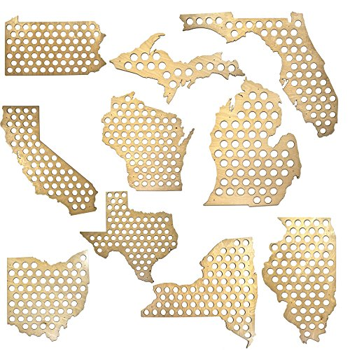 All-50-States-Beer-Cap-Map-Glossy-Wood-Skyline-Workshop-0