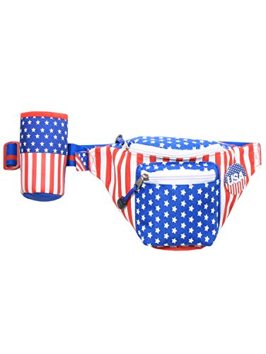 American-Flag-USA-Fanny-Pack-with-Drink-Holder-0