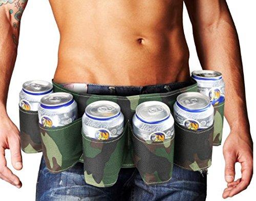 Portable-6-Pack-Beer-Soda-Can-Holster-Drink-Bag-Party-Holder-Belt-camouflage-0