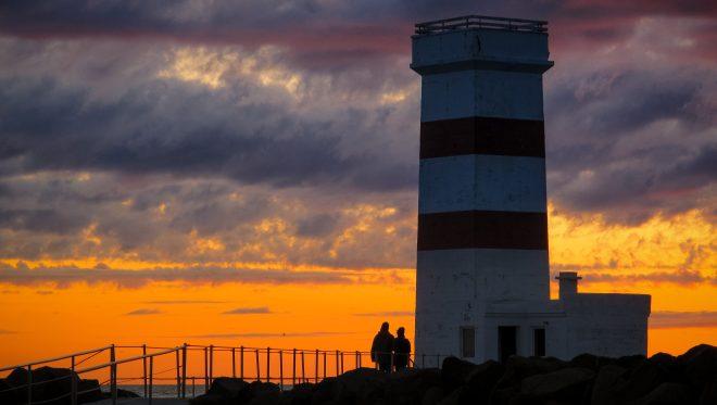 The Lighthouse ofGarður Iceland