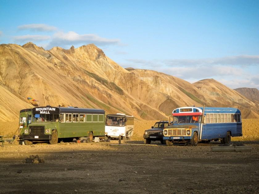 Landmannalaugar Shop Busstop Iceland