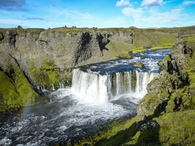 Axlarfoss Iceland
