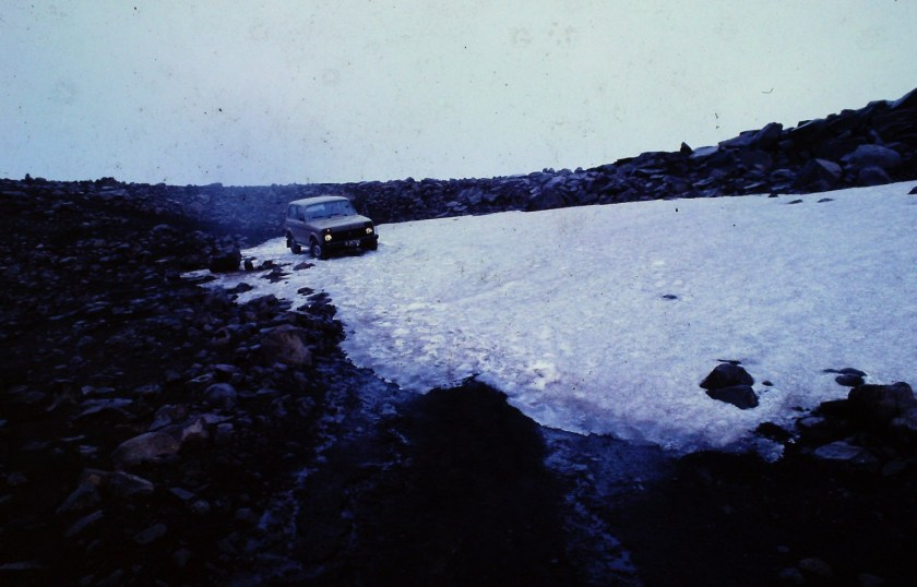 "ERINNERUNG 80S: IM LADA NIVA 4×4 ""AROUND ICELAND"""