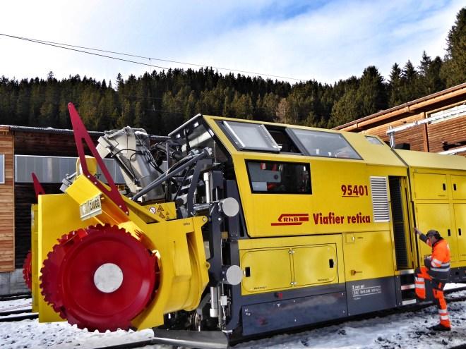 Schneeschleuder Xrot 954 01
