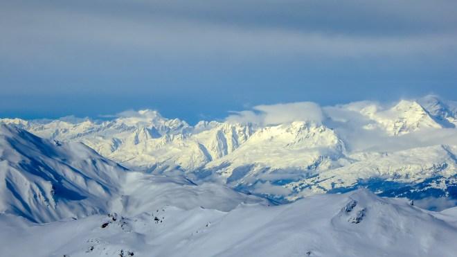 Winterwelten Arosa Lenzerheide Chalet Calanda Calandamassiv Schweiz Graubünden Ferienwohnung Hotel