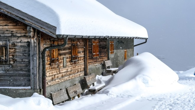 nach dem grossen Schneefall Arosa-1100056