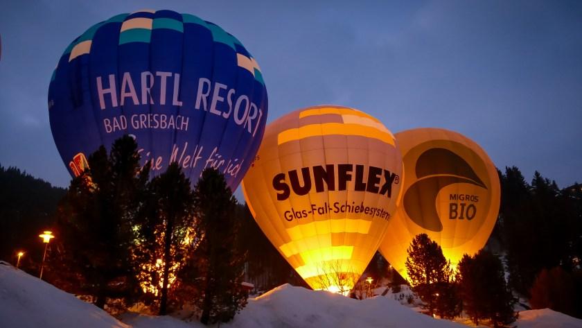 Hot Air Balloon Alpine Week Arosa-1100293
