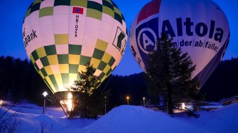 Hot Air Balloon Alpine Week Arosa-1100301