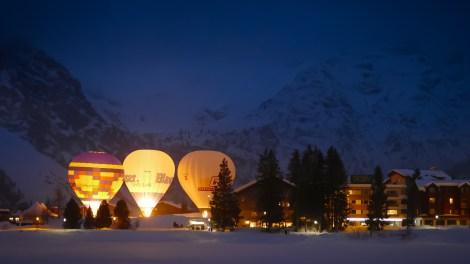 Hot Air Balloon Alpine Week Arosa-1100354