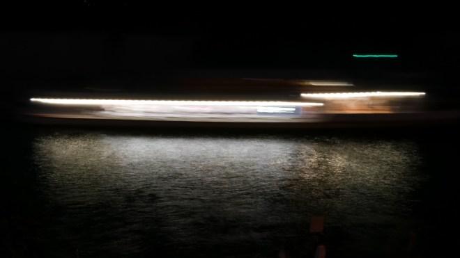 Lightstreams on the Water by Michael's Beers & Beans Bodensee Seerhein