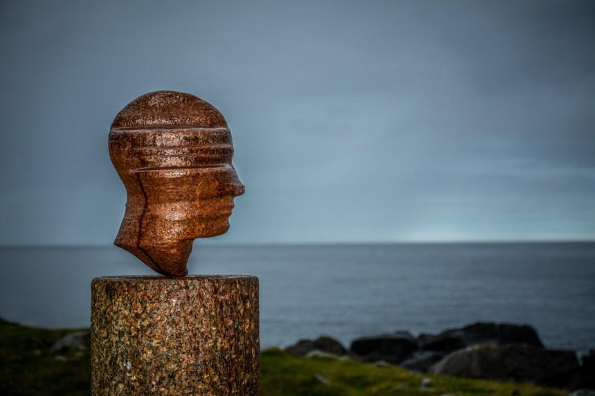 Skulpturenlandschaft Nordland Markus Raetz