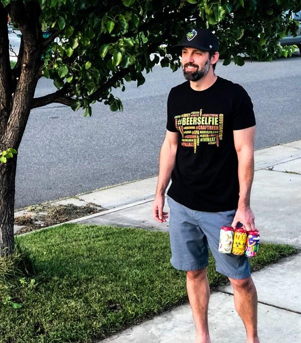 hashtag beerselfie shirt