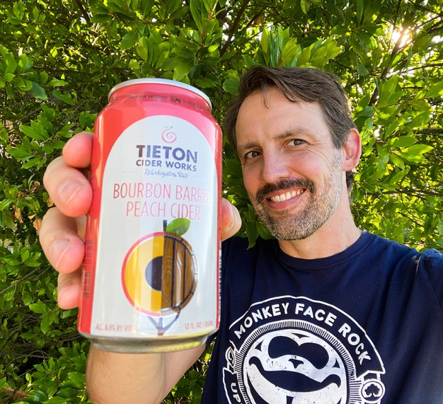 Tieton Bourbon Barrel Pear Cider