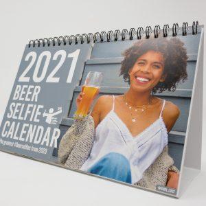 Beer Selfie Calendar Cover