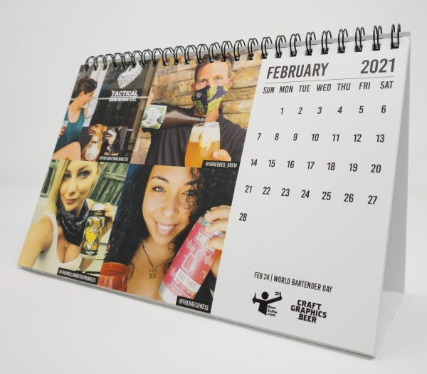 Beer Selfie Calendar April