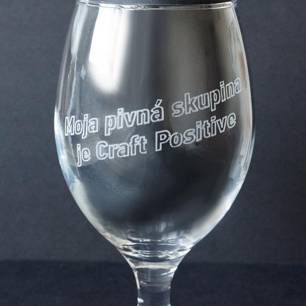 pohár na pivo BEER STATION s objemom 400 ml s vtipným textom