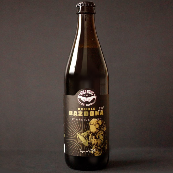 Double-Bazooka 20_Beer-Bros_Double IPA_Remeselnepivo