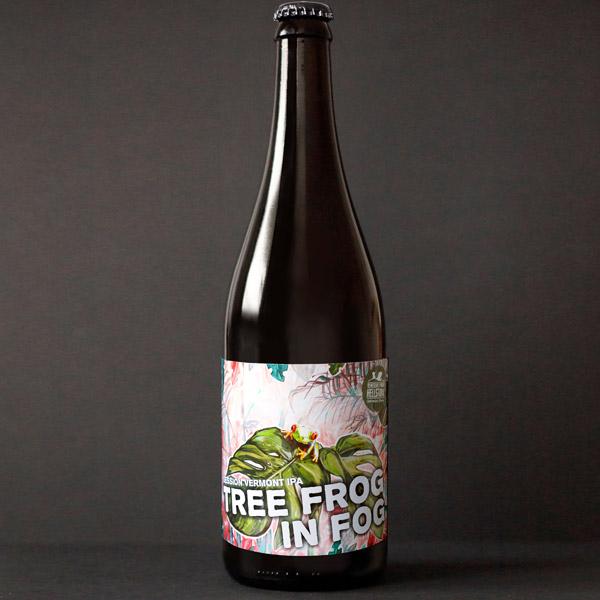 Tree-Frog-In-Fog_Helstork - NEIPA - IPA - Slovensky pivovar - Remeselné pivo - Craft Beer