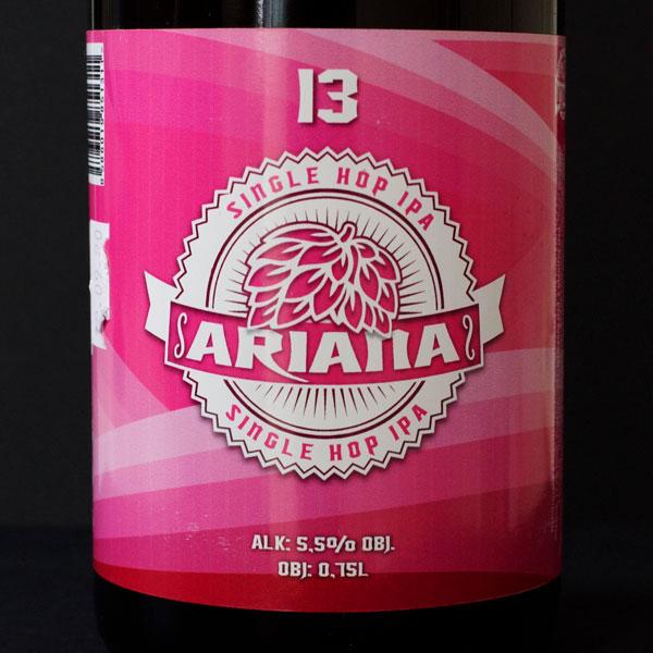 WYWAR; Ariana 14; Craft Beer; Remeselné Pivo; Živé pivo; Beer Station; Fľaškové pivo; IPA; Single Hop IPA