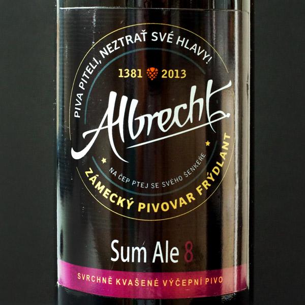 Sum Ale 8; Albrecht; Frydlant