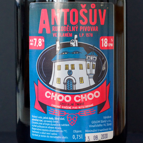 Choo Choo 18° (Antoš) 0.75L