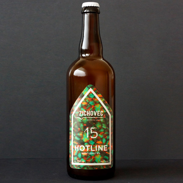 Zichovec; Hotline ipa 15; Hotline Zichovec; Beer Station; pivo e-shop; remeselné pivo; remeselný pivovar; craft beer Bratislava; živé pivo
