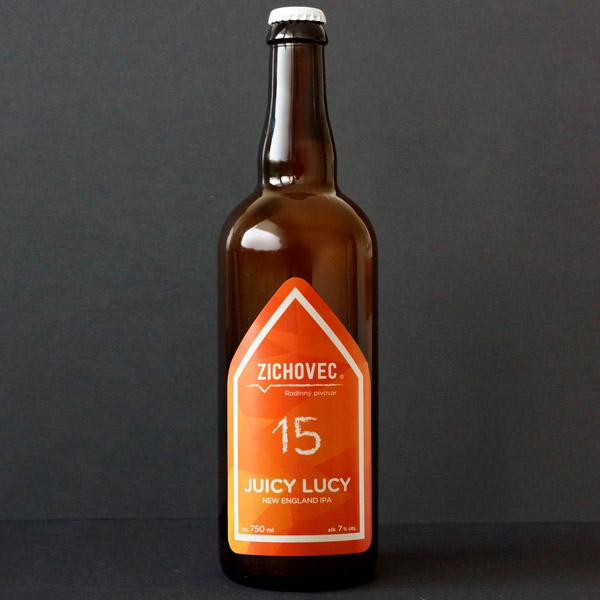 Zichovec; Juicy Lucy 15; Juicy Lucy Zichovec; NEIPA; Beer Station; pivo e-shop; remeselné pivo; remeselný pivovar; craft beer Bratislava; živé pivo