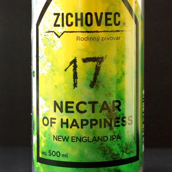 Nectar of Happiness 17; Zichovec plechovka; Nectar of Happiness Zichovec; NEIPA; Beer Station; pivo e-shop; remeselné pivo; remeselný pivovar; craft beer Bratislava; živé pivo