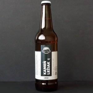 Čierný kameň; Kameň 11°; Craft Beer; Remeselné Pivo; Živé pivo; Beer Station; Fľaškové pivo; ležiak; pivovar Čierny Kamen; pivo so sebou