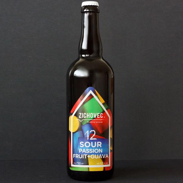 Sour Passion Fruit + Guava 12; Zichovec; Sour Zichovec; sour ale; Beer Station; pivo e-shop; remeselné pivo; remeselný pivovar; craft beer Bratislava; živé pivo