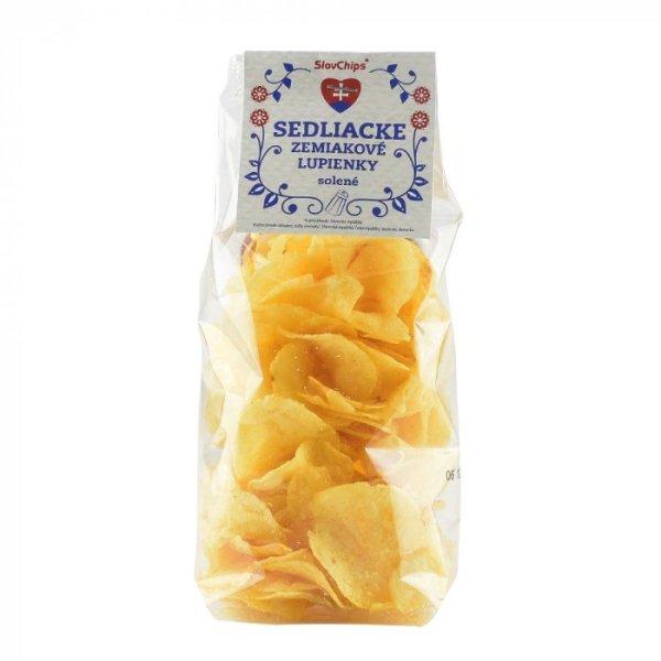 Sedliacke zemiakové lupienky SOLENÉ; sedliacke lupienky; lupienky