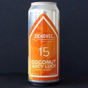 Coconut Juicy Lucy 15; Zichovec plechovka; Zichovec; NEIPA; Beer Station; pivo e-shop; remeselné pivo; remeselný pivovar; craft beer Bratislava; živé pivo