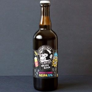 NEIPA 15; Nachmelena Opice; Pivo Nachmelena Opice; Pivo Opica; Distribúcia piva; Sabro; Mosaic