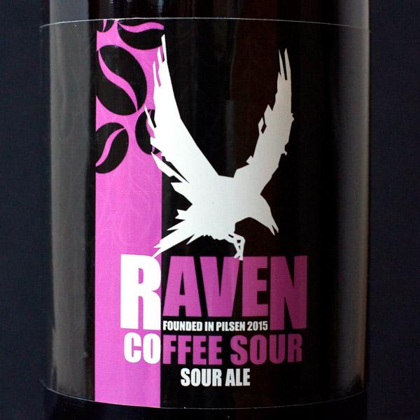 Raven; Coffee Sour 9; Sour Ale; Beer Station; pivo e-shop; remeselné pivo; remeselný pivovar; craft beer Bratislava; živé pivo; pivo; Distribúcia piva