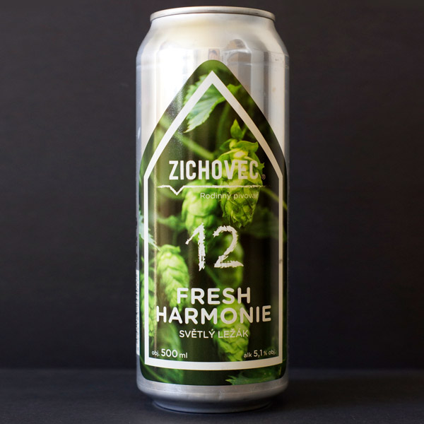 Fresh Harmonie 12; Zichovec plechovka; Zichovec; Beer Station; pivo e-shop; remeselné pivo; remeselný pivovar; craft beer Bratislava; živé pivo; Sour; pivo