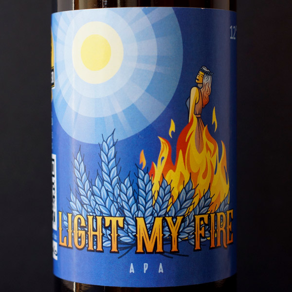 Schwager; Light My Fire 12; Craft Beer; Remeselné Pivo; Živé pivo; Beer Station; APA; Pivo; Schwager pivo