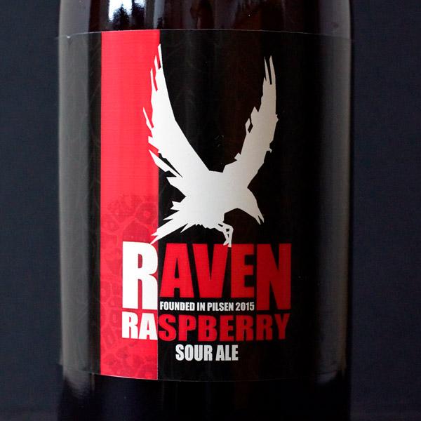 Raven; Raspberry 9; Sour Ale; Beer Station; pivo e-shop; remeselné pivo; remeselný pivovar; craft beer Bratislava; živé pivo; pivo; Distribúcia piva