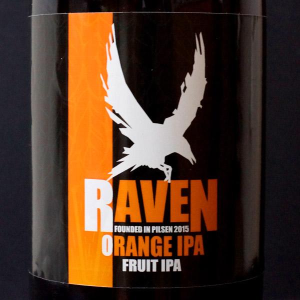 Raven; Orange IPA 15; Fruit IPA; Beer Station; pivo e-shop; remeselné pivo; remeselný pivovar; craft beer Bratislava; živé pivo; pivo; Distribúcia piva; pivovar Raven; IPA
