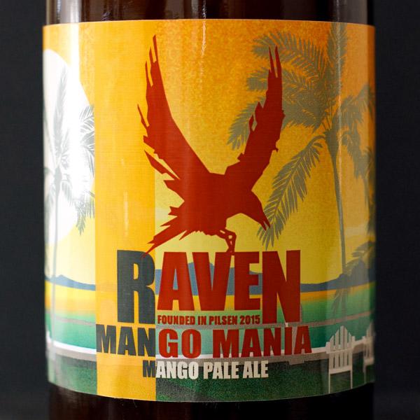 Raven; Mango Mania 12; APA; Beer Station; pivo e-shop; remeselné pivo; remeselný pivovar; craft beer Bratislava; Pod vrchnakom; pivo; Distribúcia piva; pivovar Raven; Fruit APA