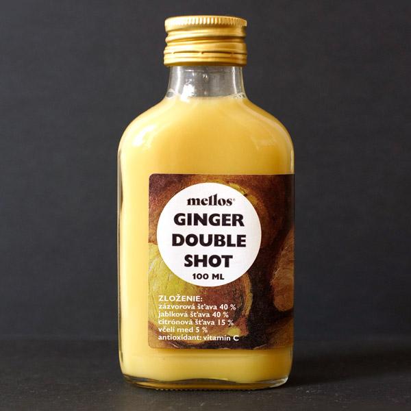 Mellos; Ginger Double Shot; Ginger Shot; Slovensky vyrobok; Imunita; Opre; zazvorovy napoj