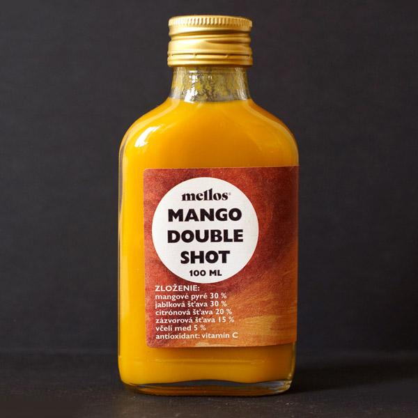 Mellos; Mango Double Shot; Ginger Shot; Slovensky vyrobok; Imunita; Opre; zazvorovy napoj