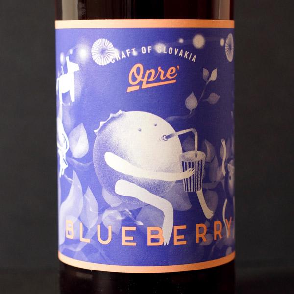 cider; opre cider; opre; čucoriedkový cider; sajder; Opre' Blueberry