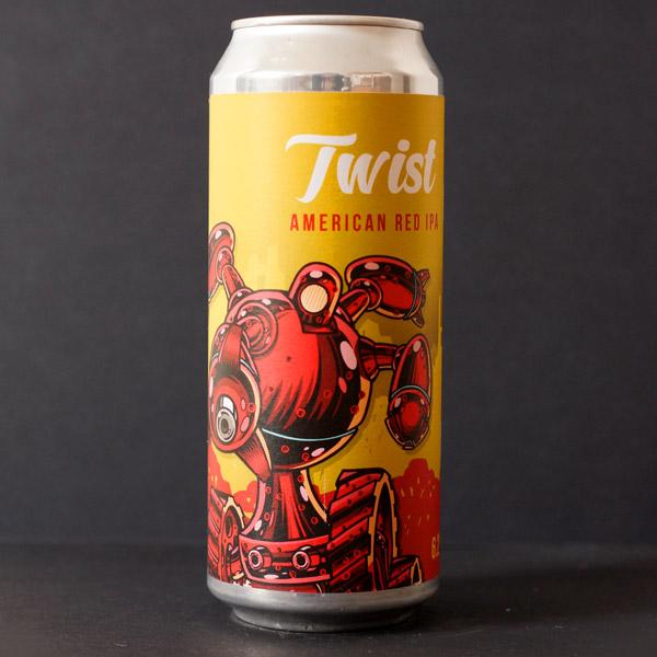 Clock; Twist 14; Craft Beer; Remeselné Pivo; Živé pivo; Beer Station; IPA; Pivovar Clock; Distribúcia piva; pivovar z Potštejna; Pivo; American IPA; pivo v plechu