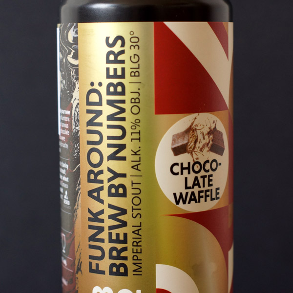 Funky Fluid; Brew by Numbers; Funk Around: Chocolate Waffle 30; Craft Beer; Remeselné Pivo; Salon piva; Beer Station; Plechovkové pivo; Stout; Poľské pivo; Distribúcia piva; BBNo