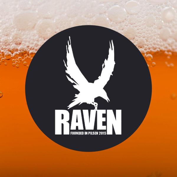 Raven; Raspberry & Coffee Sour; Sour Ale; Beer Station; pivo e-shop; remeselné pivo; remeselný pivovar; craft beer Bratislava; živé pivo; pivo; Distribúcia piva; Berliner Weisse