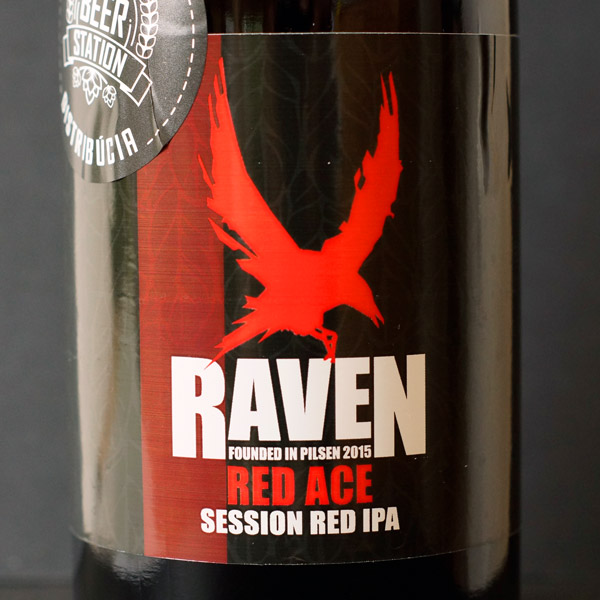 Raven; Red Ace 12; IPA; Beer Station; pivo e-shop; remeselné pivo; remeselný pivovar; craft beer Bratislava; živé pivo; pivo; Distribúcia piva; pivovar Raven; session red ipa