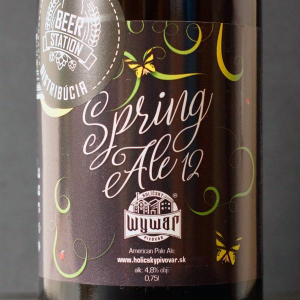 WYWAR; Spring Ale 12°; Craft Beer; Remeselné Pivo; Živé pivo; Beer Station; Fľaškové pivo; APA; Beer Store