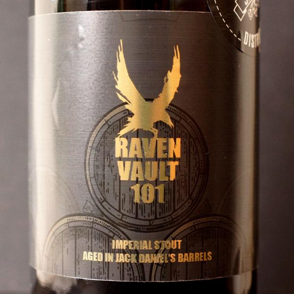 Raven; Vault 101; Imperial Stout; Aged; Beer Station; pivo e-shop; remeselné pivo; craft beer Bratislava; živé pivo; pivo; Distribúcia piva; Tmavé pivo; Barrel Aged; Jack Daniel's