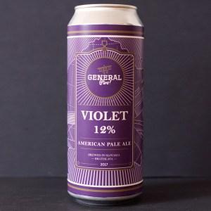 Pivovar General; Violet; APA; Beer Store; Craft Beer; American Pale Ale; Beer Store Bratislava