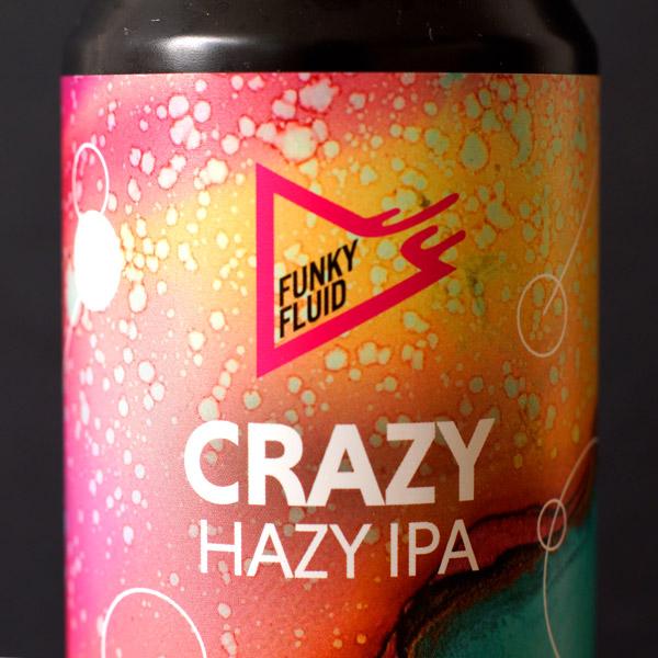 Funky Fluid; Crazy; Craft Beer; Remeselné Pivo; Salon piva; Beer Station; Plechovkové pivo; NEIPA; New England IPA; Distribúcia piva; Poľský pivovar